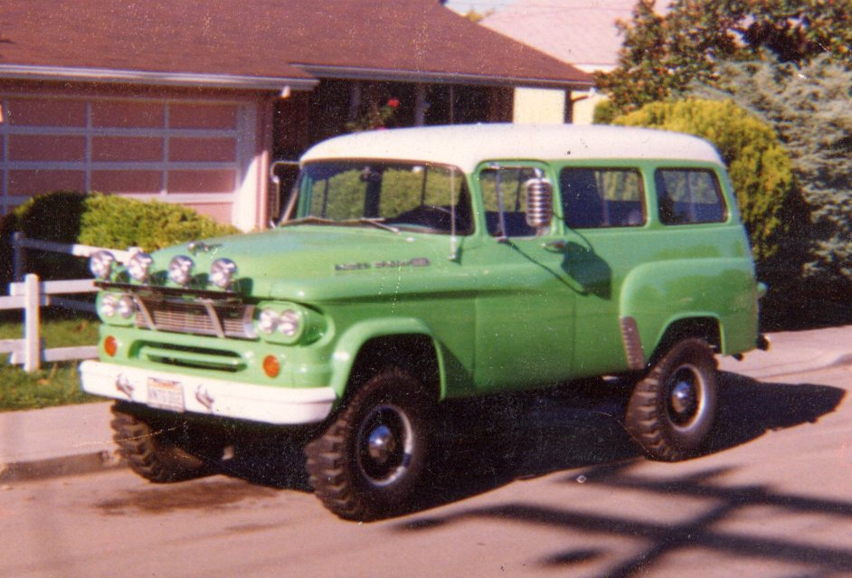 1965 Dodge Town Wagon Power Wagon