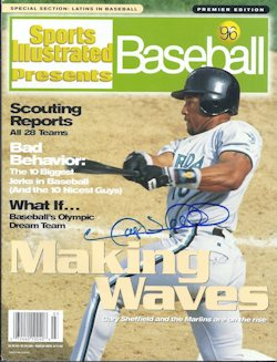 PRES Gary Sheffield SIGNED
