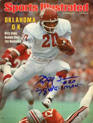 billy sims 300