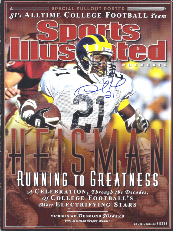 desmond howard 700