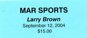 larry brown 300 4